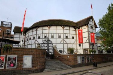 The Globe Theater saved from e-architect.co.uk