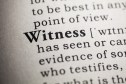 Being Witnesses...