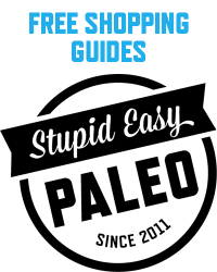 Free Paleo Shopping Guides | stupideasypaleo.com
