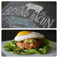 Southwestern Chorizo Burger with Fried Eggs (p. 108)