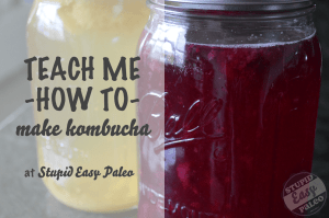 TMHT make kombucha