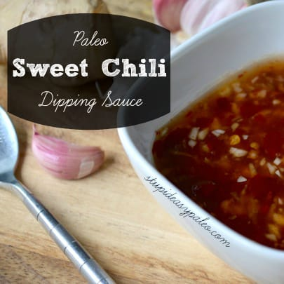 Paleo Sweet Chili Dipping Sauce | stupideasypaleo.com