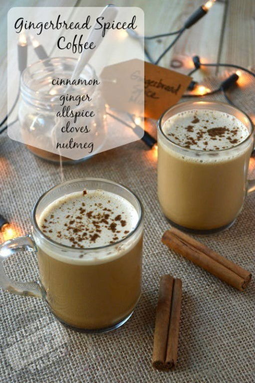 Gingerbread Spiced Bulletproof Coffee | stupideasypaleo.com