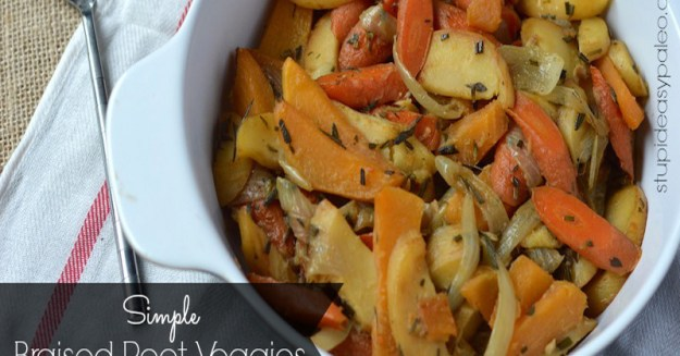 Simple Braised Root Veggies | stupideasypaleo.com