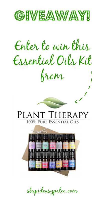 Plant Therapy Essential Oils Kit Giveaway | stupideasypaleo.com