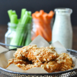 Crispy Buffalo Chicken Fingers—Fed & Fit | stupideasypaleo.com