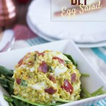 Avocado BLT Egg Salad | Lexi's Clean Kitchen for stupideasypaleo.com