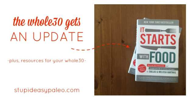 The Whole30 Gets an Update | stupideasypaleo.com