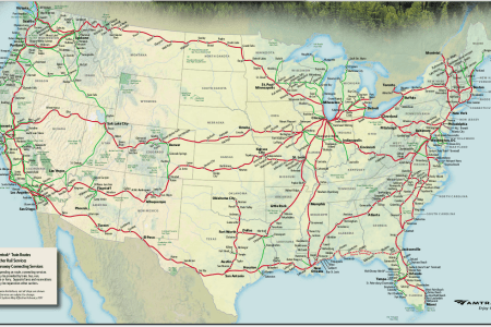 amtrak map related keywords & suggestions amtrak map