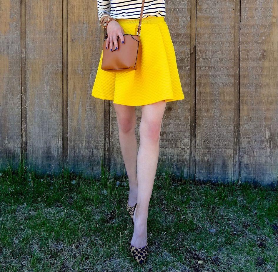 Yellow Skirt 4b