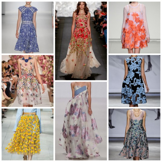 Floral Print NYFW SS15