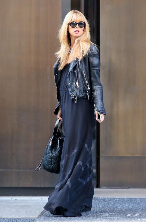 Rachel Zoe Leaving Her NYC Hotel