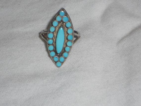 turquoise ring 10