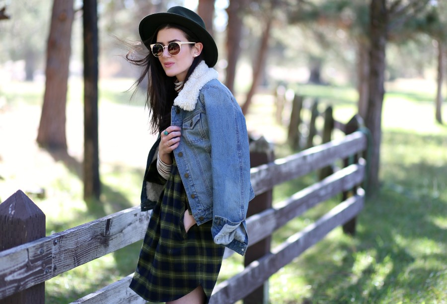 Plaid Flannel Dress 3a