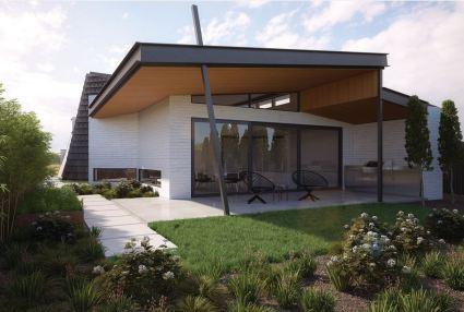 עוד בית מדהים עם חצר רחבה.