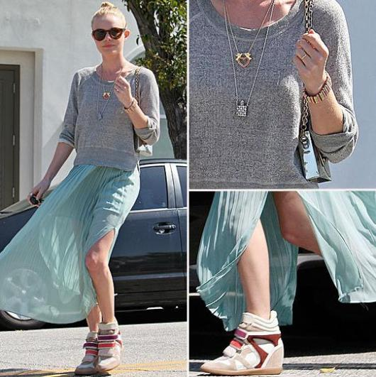 kate-bosworth-seafoam-skirt-isabelle-marant-sneakers