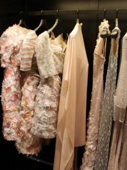 Each dress takes around 3 months to make.