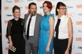 """TORONTO, ON - SEPTEMBER 12: Julianne Moore, Ethan Hawke, Greta Gerwig, and Rebecca Ann Miller attend the premiere of """"Maggie's Plan"""" at Princess of Wales Theatre during the 2015 Toronto International Film Festival on September 12, 2015 in Toronto, Canada. (Photo by Taylor Hill/FilmMagic)"""
