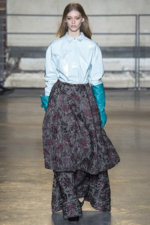 Rochas pfw fall 2014 Paris Fashion Week Edits: Sonia Rykiel, Rochas, Dries Van Noten