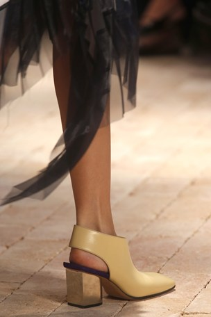 blocked heel celine Spring 2014 Fashion Guide: Whats Trending Now