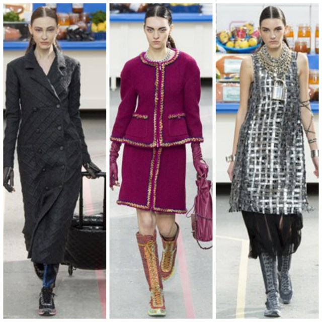 chanel fall2014 1024x1024 Chanel Goes Normcore At Supermarket Themed Fall 2014 Show