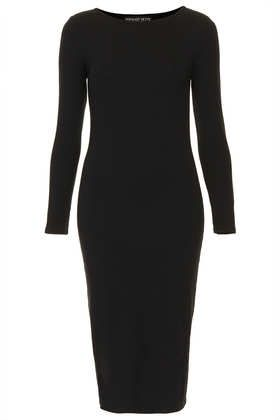 topshop bodycon midi dress Five Petite Wardrobe Myths, Debunked