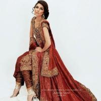 Pakistani Bridal Classics Dress 2013 By Nilofer Shahid