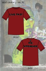 live fast die whenever men's FA 16-01