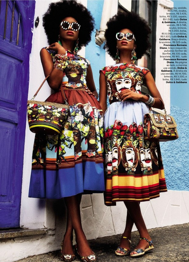 editorials with twins