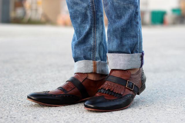 prada kiltie shoes