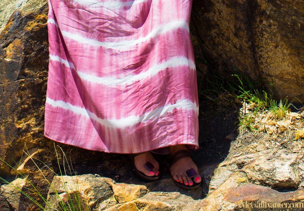 bright-summer-nail-polish_black-girls-killing-it_best-fashion-bloggers-africa_australia's-best-fashion-blog_trilby-hat_tie-dye-trend_womenswear-fashion-trends-2014_fashion-2014_teal-earings-3