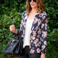 Style Sessions Fashion Link Up: Spring Style - Floral and Leather