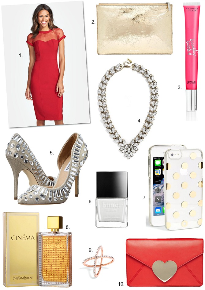 Lust List Fab Favorites Link Up: The Perfect Red Dress & My Lust List