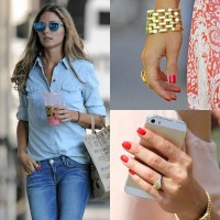 Monday Must Have: Olivia Palermo Style - Red Nail Polish