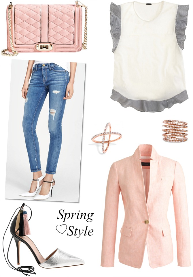 Spring Style In Between Season   The Perfect Spring Outfit Transition