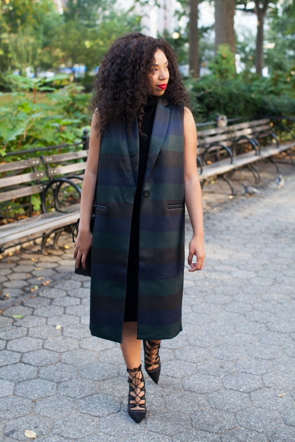 Kaylah_Burton-Style-Me-Twice-ASOS-White-Bonded-Stripe-Vest-Forever-21-Turtleneck-Dress-NYC-Style-NYC-Top-Bloggers-Fall-Style-Fall-Outfit-Ideas-Menswear-Inspired-Outfit-Ideas