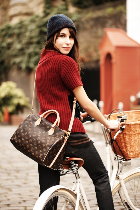 Louis Vuitton Speedy Bandouliere Bag Feat Caroline Sieber 2
