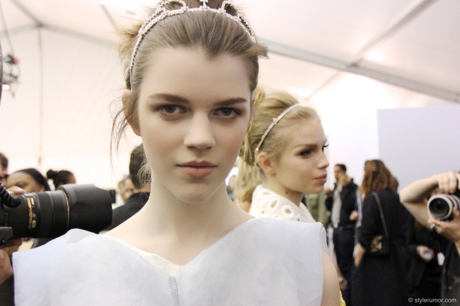 Louis Vuitton Spring Summer 2012 Backstage 12