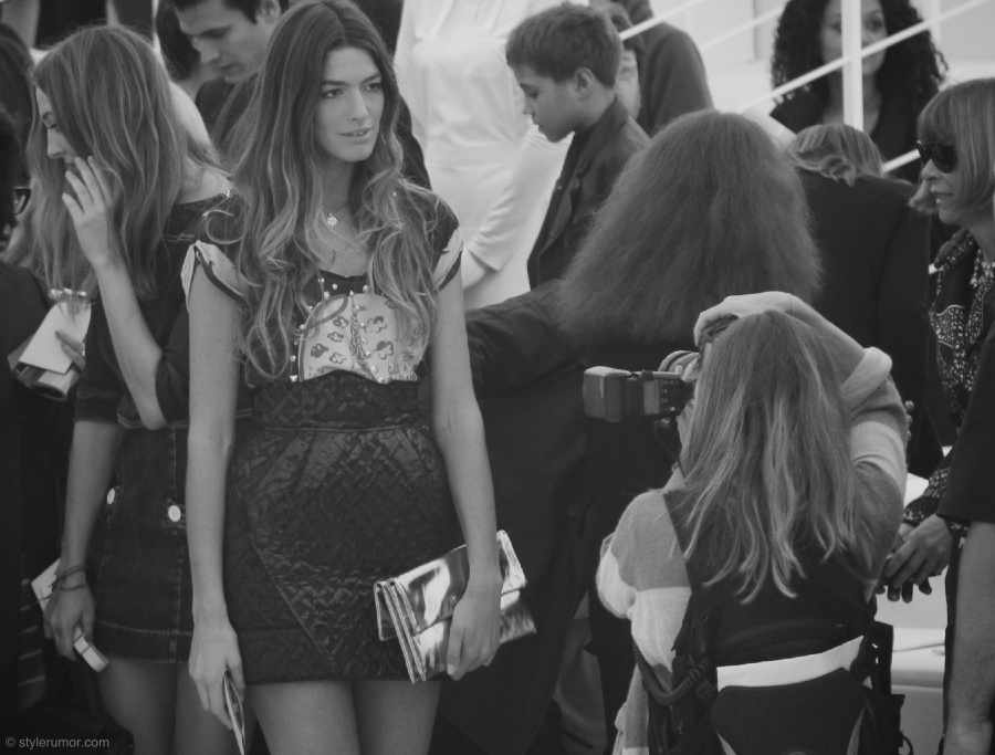 Louis Vuitton Spring Summer 2012 Backstage 4