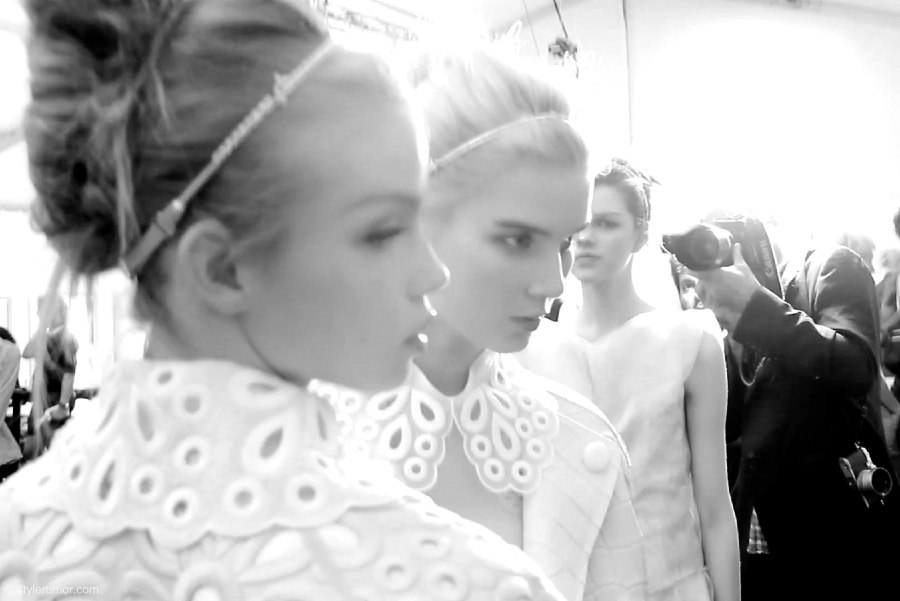 Louis Vuitton Spring Summer 2012 Backstage 7