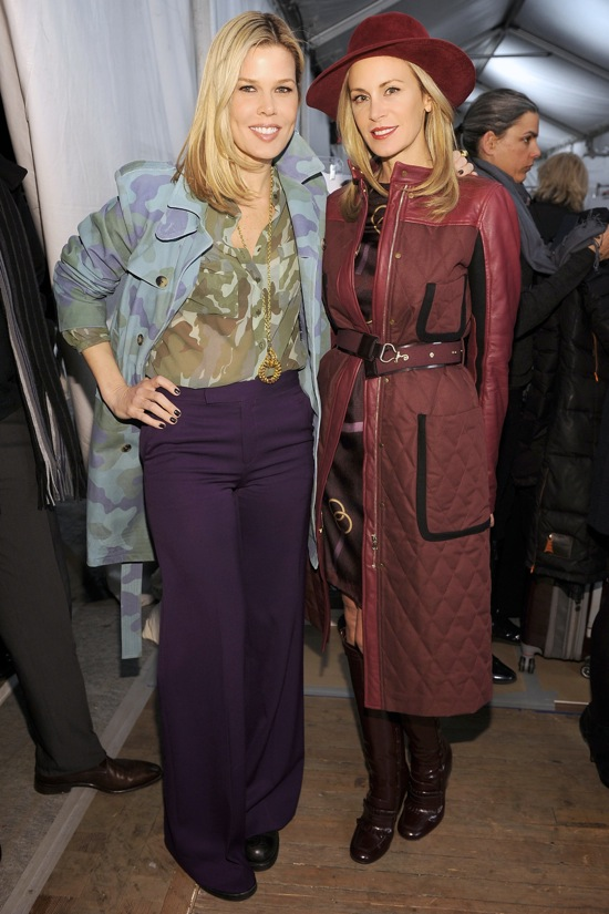 Tommy Hilfiger Fall Winter 2012 Backstage Mary Alice Stephenson Dee Hilfiger