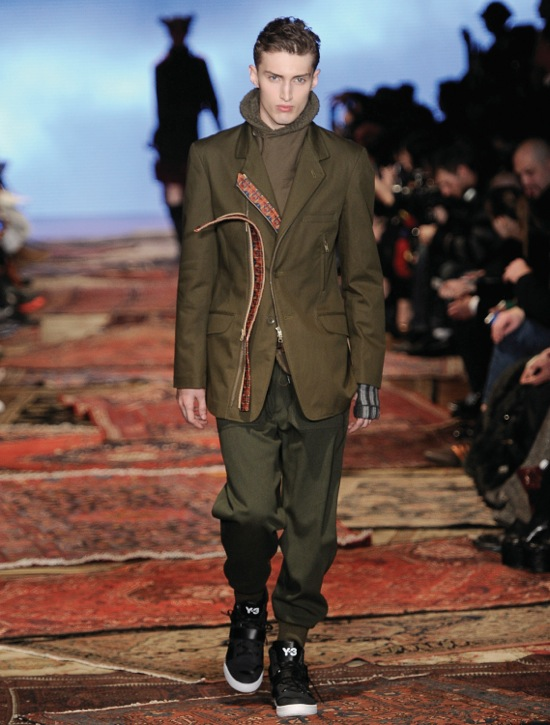 Y-3 Fall Winter 2012 Collection 7