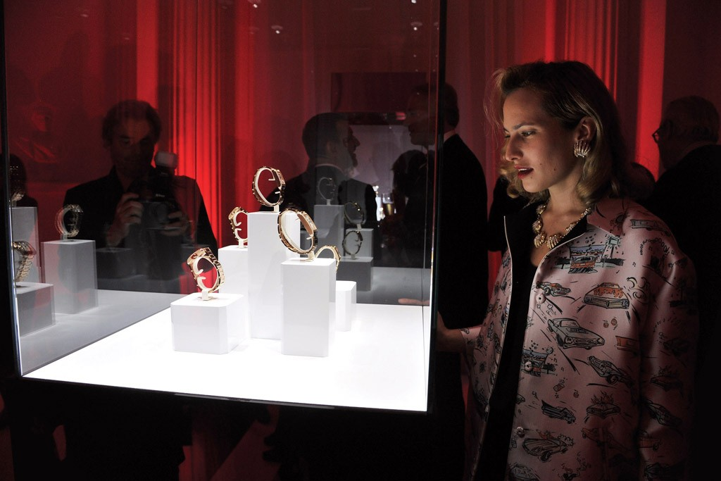 Cartier Celebrates New Tank Anglaise Watch Charlotte Dellal