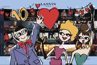 Lanvin launches its mobile website