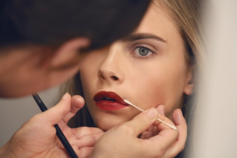 Burberry Beauty Backstage at the Burberry Prorsum Spring Summer 2013 Womenswear show 15