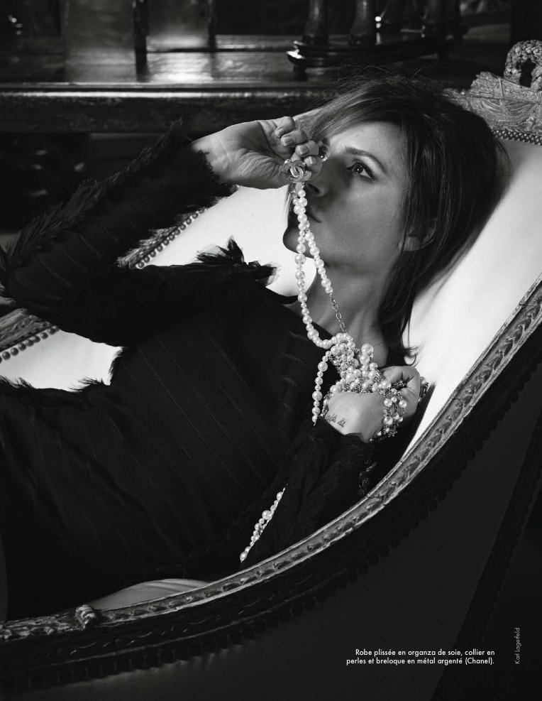 ELLE France Victoria Beckham By Karl Lagerfeld 4