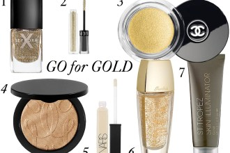 Go for Gold! The 7 Best Products to Glam-Up the Holidays