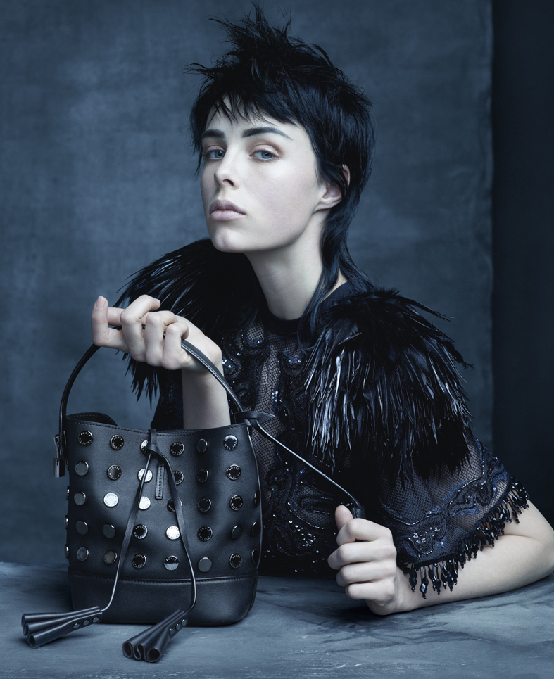 Louis Vuitton Spring Summer 2014 Ad Campaign Edie Campbell