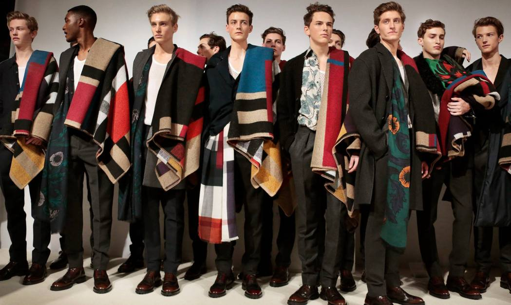 Backstage at the The Burberry Prorsum Menswear Fall Winter 2014 Show 8
