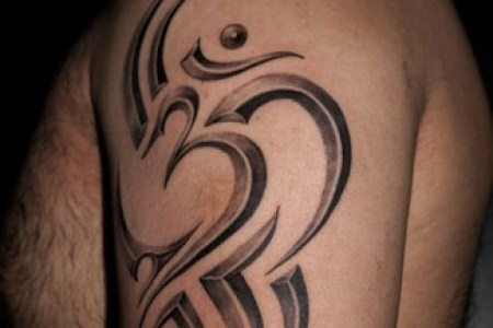 3d om tattoo design
